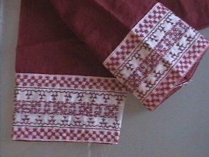 blouse border