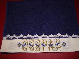 blue towel deepak