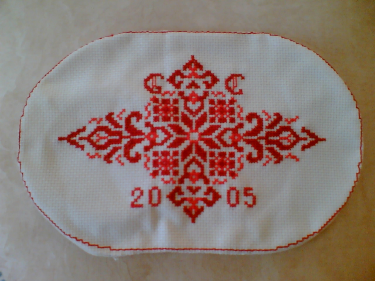 Crochet Doily Oval Pictures