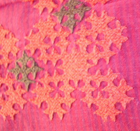 Kutchwork tutorial –Large motif1.  level-intermediary (1/6)
