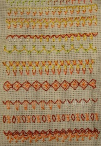 48.arrowhead stitch-sampler3