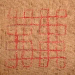 motif-10pattern on cloth