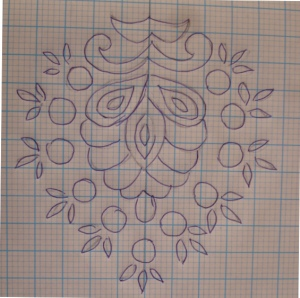 B&B kan-motif pattern