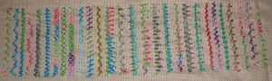 26.74.zigzag chain stitch sampler