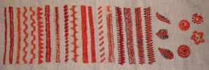 32.80.28.raised chain stitch1 sampler