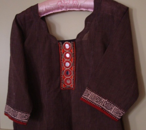 black beige orane mirror tunic2