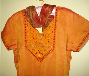 mango tunic with stloe