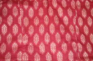 maroon chanderi zardosi-fabric