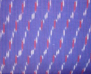 bagh emb on blue ikat-fabric