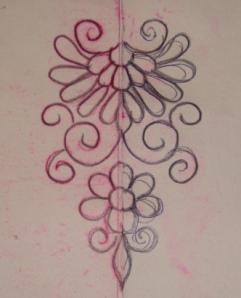 white pink Kashmiri work-pat2