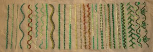 16.110.rope stitch sampler