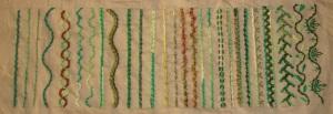 16.110.rope stitch sampler