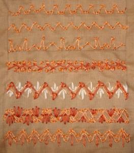 17.111. zigzag coral st- sampler2