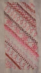 31.125.beaded herringbone stitch