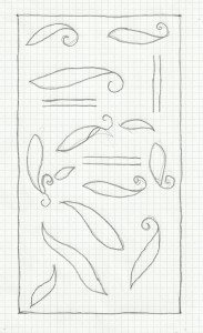 woven ch band- pattern