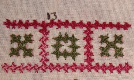 Kutch work borders- 13,14 (1/6)
