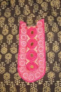 pink mirroryoke tunic -det