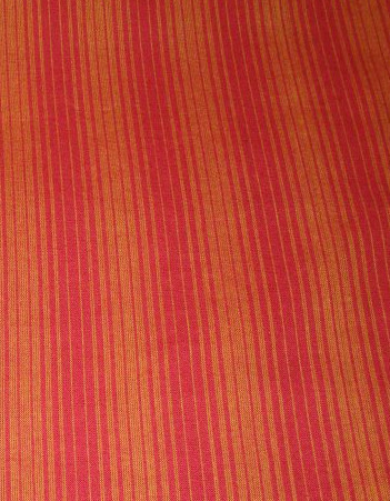 Kutch and mirror work on maroon striped tunic (1/6)