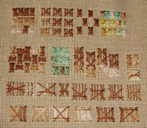 SSS. 7. gate stitch sampler
