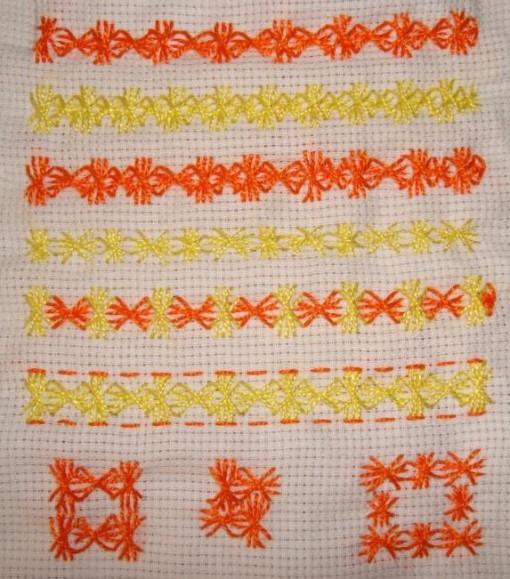 SSS.22.Vault stitch sampler