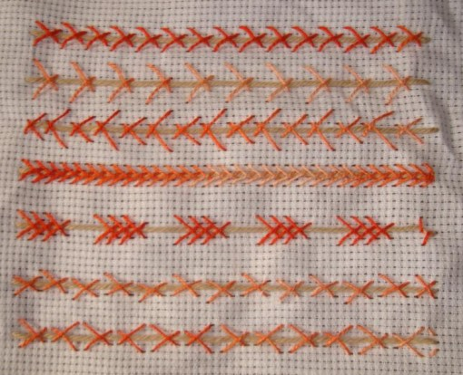 SSS.41.Thorn stitch sampler