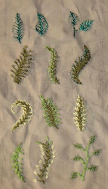 SSS.45.leaf stitch smapler