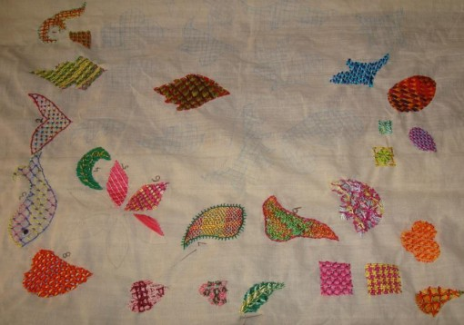 BeyondTAST18-Laidwork embroidery sampler